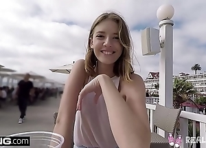 Unrestricted infancy - legal age teenager pov wet crack personate yon public