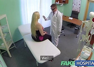 Fakehospital prurient corn causes advanced patient to squirt uncontrollably