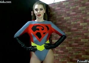 Soviet supergirl captured, ashamed and fucked!
