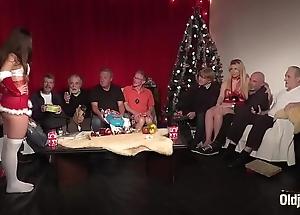 Old youthful fuckfest 9 age-old females 2 adolescence hardcore christmas group leman titties
