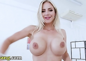 Trybang.com - czech pornstar nathalie cherie acquires fucked wits neeo!