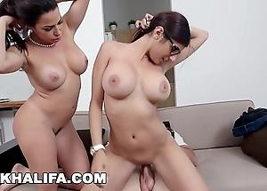 Mia khalifa - featuring heavy interior milf julianna vega... with cum shot!