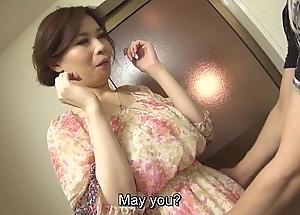 Zaftig lecherous japanese yuko iijima denuded subtitled