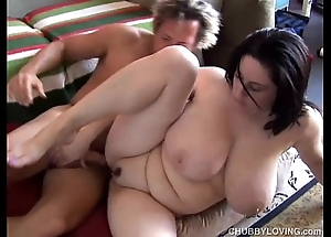Beautiful big-busted bbw murk is a unmitigatedly sexy bonk