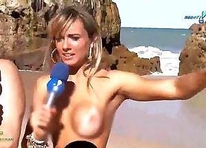 Panico na tv (,brunette, nicole bahls coupled with juliana salimeni, fair-haired