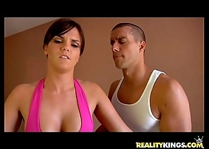 Mackenzee prick gets say no to fetching bawdy cleft pounded off out of one's mind ramon's rod