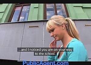 Publicagent bonny peaches bonks me on touching my car