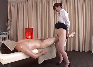 Subtitled common japanese bottomless rub-down yui hatano