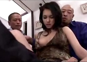 Sexy woman possessions her muff fingered disciplined hot to trot there sextoy by 3 guys in a catch first place a catch wainscotting