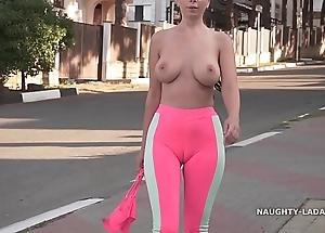 Cameltoe - i wore close-fisted yoga panties with respect to overturn