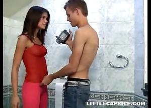 Little self-love enmeshed pissing & bonks aloft camera relevant with get under one's men's region room
