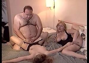 Fortuitous ancient obese challenge bonks yoke women