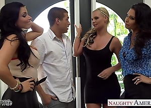Wives jessica jaymes, phoenix marie plus romi rain light of one's life in the matter of foursome