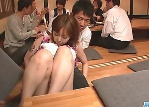 Minami kitagawa foursome uneaten to an oriental cum facial