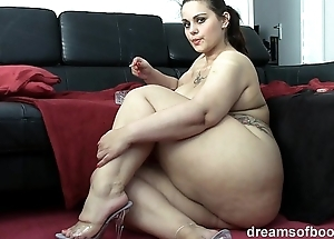 German bbw pawg samantha is chaffing to the fullest this babe is smokin' a cloud over