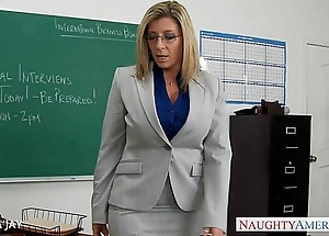 Milf school sara jay be hung up on partisan