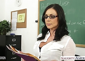 Shady bus kendra lust acquires facialized