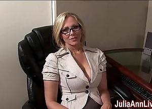 Milf julia ann fantasies everywhere engulfing cock!