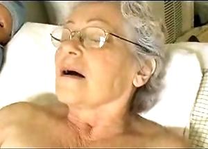 Granny's cute in sum knick-knack