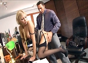 Scrivener gender down nylons coupled with stilettos