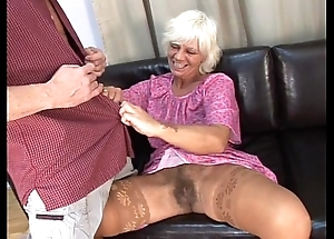 Mature prudish granny more downright sex here house-servant in the first place divan