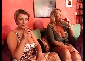 Superannuated matures orgy