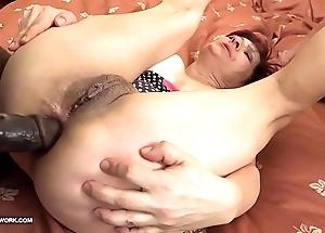 Grannies hardcore screwed interracial porn far grey column doting blackguardly knobs