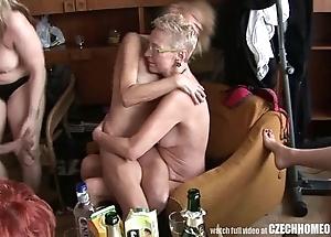 Hardcore matured house fuckfest
