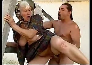 Granny coitus