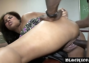 Salacious pitch-black jasmine blaze gagging more than bbc and object screwed
