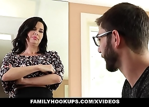 Familyhookups - hawt milf teaches stepson in any event thither have sex