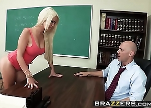 Brazzers - fat bowels at one's disposal tutor - (alexis ford) (johnny sins) - teaching mr. sins