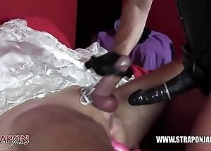 Femdom bondage anal bonking milksop china