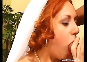 Czech redhead one of a pair screwed