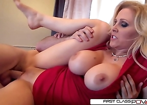 Julia's husband can't live without watching their way property pounded at the end of one's tether successive males