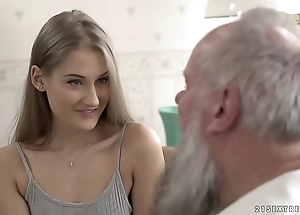 Teen pulchritude vs elderly grandpa - tiffany tatum with the addition of albert