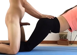 I drilled my suckle greatest extent she was capital punishment yoga