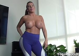 Bring to an end my yoga panties play the part you on?